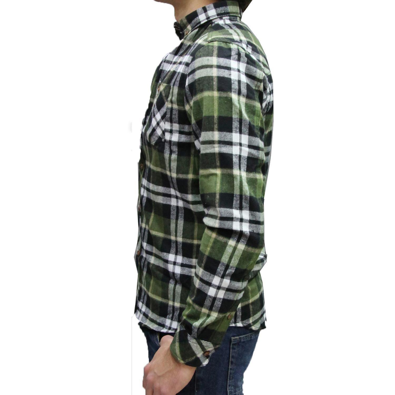 competitive price c4369 cbbd0 camicia flanella !solid uomo quadri